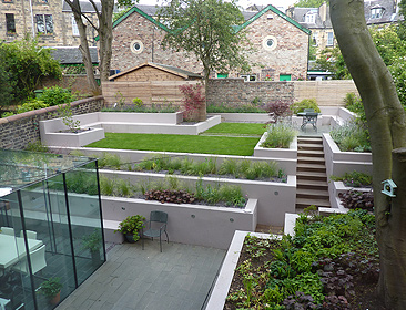 Landscapers glasgow landscape contractor glasgow for Creative garden design 805
